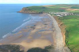 This is an image of the coast at St Bees, Cumbria on the Coast To Coast Walk in Walks In Tameside.