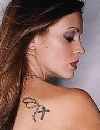 Alyssa Milano Tattooo