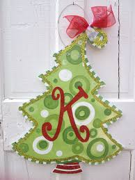 christmas tree door hanger free personalization www pinderellas