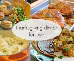 prepare ahead thanksgiving dinner thanksgiving dinner for two 3 steps with pictures