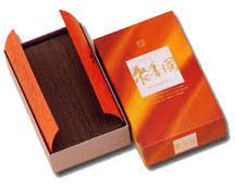 Shu koh koku - (Flat Box 60 Gram) Silk Road Aloeswood Incense - syuko