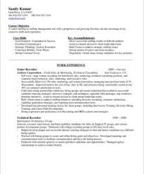 Recruiting Resume Examples by Technical Recruiter Sample Resume Resume Templates