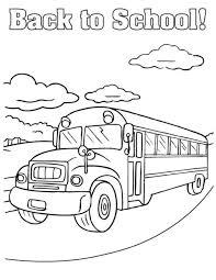 free printable bus coloring pages for kids