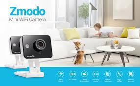 amazon security cameras black friday amazon com zmodo 720p hd wifi wireless smart security camera two
