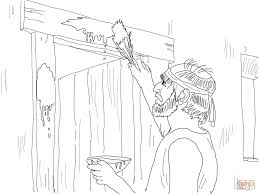 moses coloring pages free coloring pages