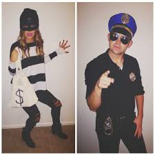 diy thift shop halloween costumes female bank robber the sweet