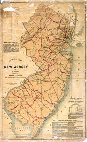 Time Change Map New Jersey Historical Maps