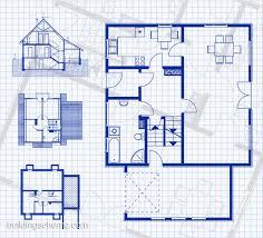 plan house blueprint with vertikal and horisontal mesmerizing