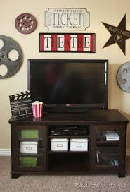 Home Movie Theater Wall Decor 88 Best Movie Theme Decor Images On Pinterest Movie Rooms
