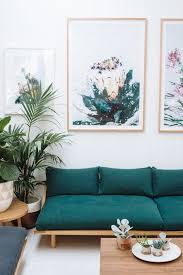 Green Sofa Living Room Ideas Our Kind Of Jungalow Sitting Room That Platform Couch Is