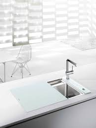 Blancoamerica Com Kitchen Sinks by The Blanco Crystalline Offers An Integrated Cutting Board That