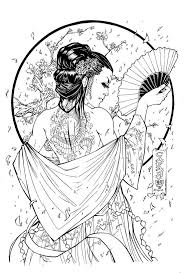 261 best coloring pages to print asia images on pinterest