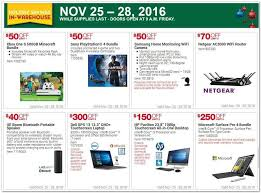psn card black friday costco u0027s black friday 2016 ad leaks discounts on ps4s computers