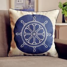 Nautical Home Accessories Online Get Cheap Nautical Themed Pillows Aliexpress Com Alibaba