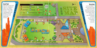 Grant Park Chicago Map by Lollapalooza 2005 Map And Schedule Glorious Noise