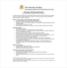 Apa Style Research Papers Example Of Format And Outline free