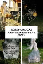 halloween garden decor ideas