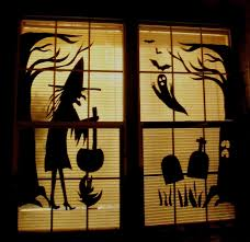 how to look scary for halloween make the best of things so cheap halloween fun decor with poster