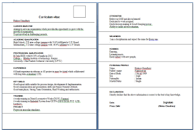 Jobs Freshers Resume Layout by Resume Only One Job Free Resume Example And Writing Download