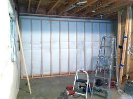Insulating Basement Concrete Walls by Framing Basement Walls How To Build Floating Walls