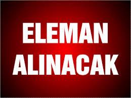 ELEMAN ALINACAK