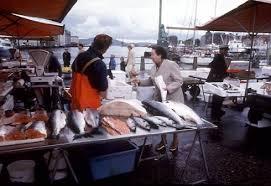 Les marchés aux poissons