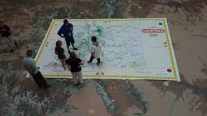 Map Of Colorado by Giant Map Of Colorado Colorado Geographic Alliance University