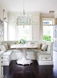 Eat In Kitchen by Relaxed Luxury Dark Wood And Beige Family Eat In Kitchen Bench
