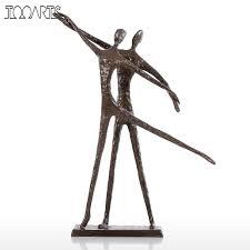 online get cheap metal dance sculptures aliexpress com alibaba