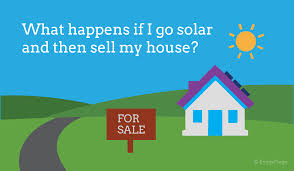 how to sell a house that has solar panels installed energysage