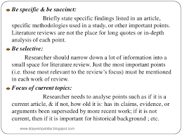 Literature review example of a research paper     Top   Best       AlphaCord Applicants
