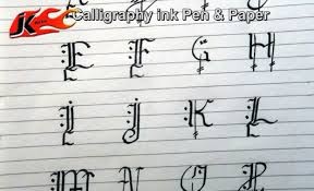 old style writing paper capital letters calligraphy diy how to write jk arts 029 capital letters calligraphy diy how to write jk arts 029 youtube