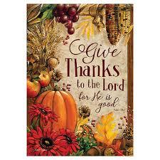 greeting for thanksgiving thanksgiving garden flag lord u0027s bounty