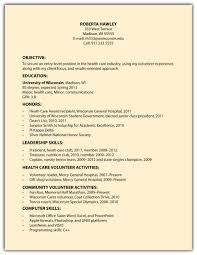 Resume Sample Volunteer by Cover Letter For Veterinary Volunteer