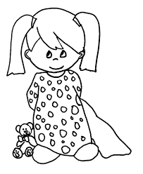 baby princess coloring pages to download and print for free with
