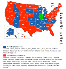 Map Of Wisconsin And Illinois by Wisconsin Now Recognizes The Illinois License To Carry U2014 Illinois