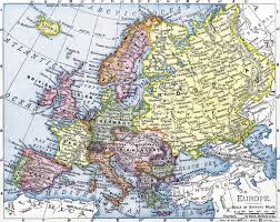 Map Of 1914 Europe by Hijacked History