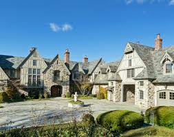 30 million english tudor stone mansion in kings point ny homes