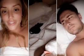 Watch prankster Jack Jones left terrified as stunt goes horribly     Mirror Charlotte CrosbyCharlotte Crosby wets the bed AGAIN as she lies topless with Stephen Bear