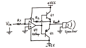 home theater circuit diagram making an audio power amplifier drive a sub woofer electroboom