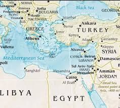 Map Egypt Map Of Greece And Egypt Greece Map