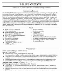 Resume Sample For Human Resource Position by Download Human Resources Resumes Haadyaooverbayresort Com