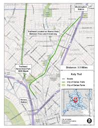 Downtown Dallas Map by Major Linear Trails Dallas Parks Tx Official Website
