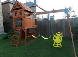 Cedar Playsets Review Adventure Play Sets Atlantis Wooden Swing Set Dallas