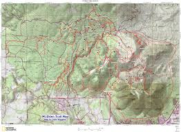 Map Az Mountainbikebill U0027s Summer 2010 Mountain Biking Trip To Arizona