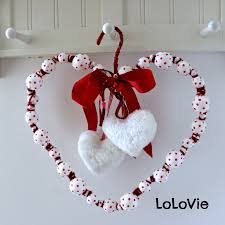 valentine u0027s day wreath from christmas ornaments ikea hackers