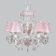 White Shabby Chic Chandelier by Shabby Chic Chandelier Shades Beautiful 5 Arm Flower Garden