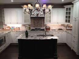 Dark And White Kitchen Cabinets Kitchen Modern Antique White Kitchen Decor Ideas Using L Shape