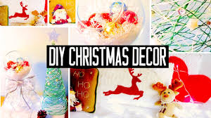 Homemade Christmas Decorations by Diy Christmas Room Decorations No Sew Pillow Easy Tree U0026 More