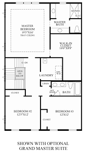 moorefield green the woodside the newman home design optional grand master suite bedroom level floor plan